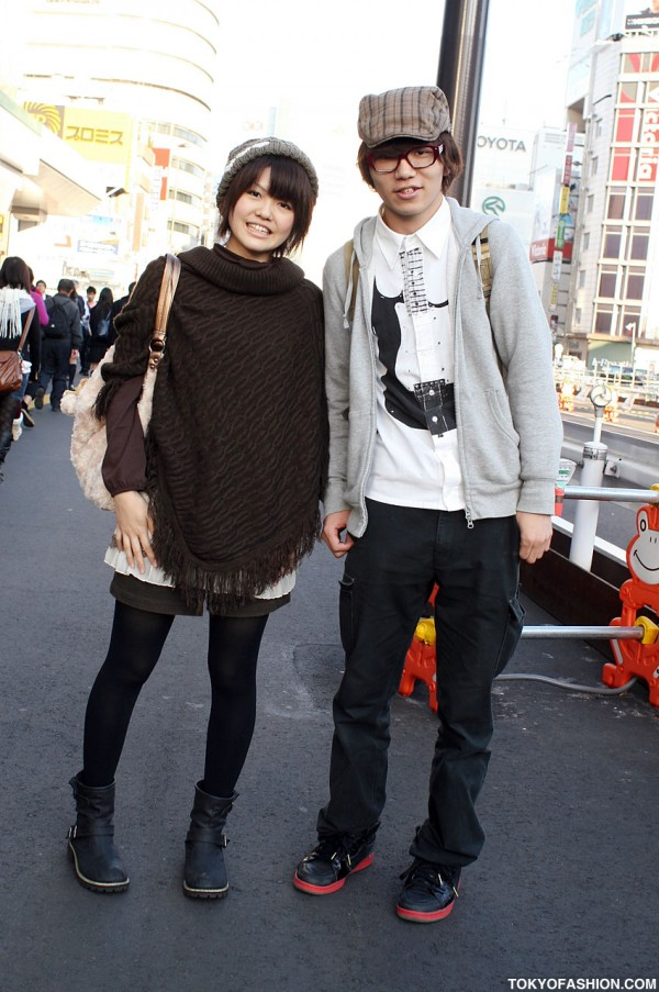 Cute Japanese Guy & Girl Fashion