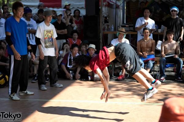 Japanese Breakdancing