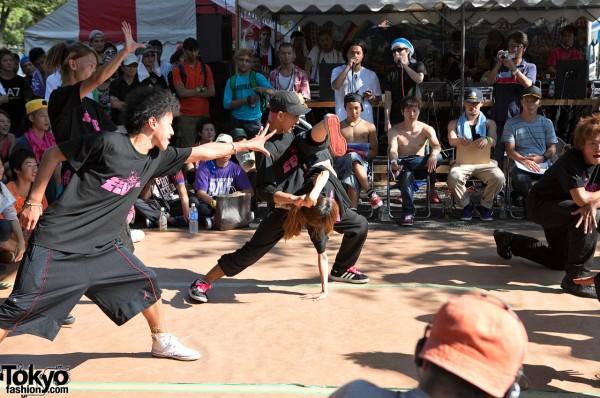 Breakdancing in Japan