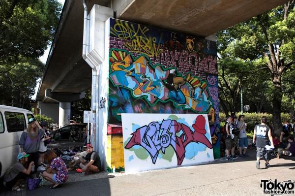 Graffiti at B-Boy Park