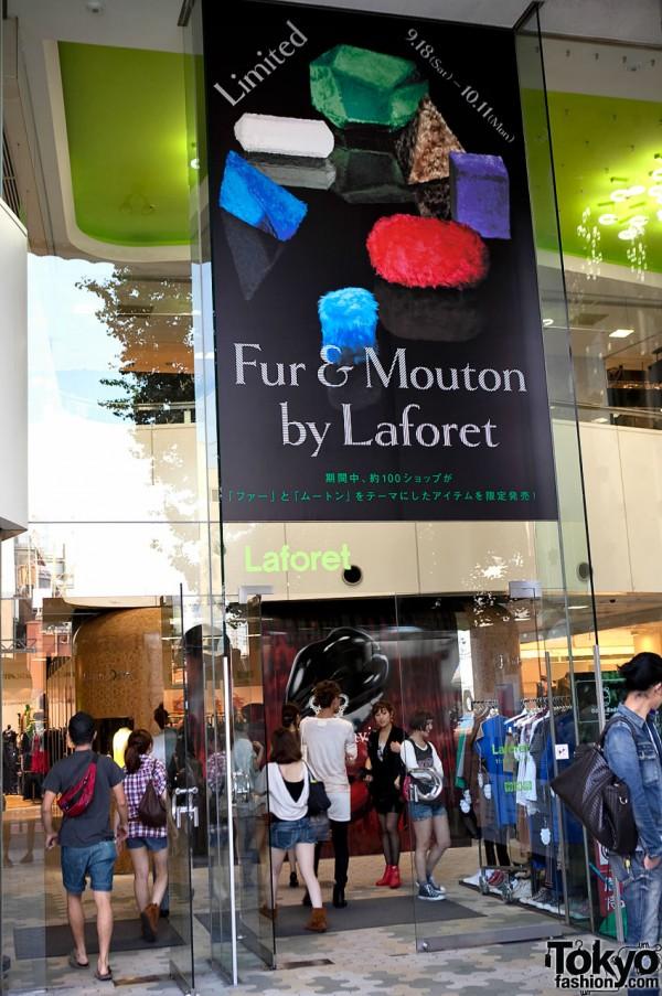 LaForet Harajuku Fur & Mouton
