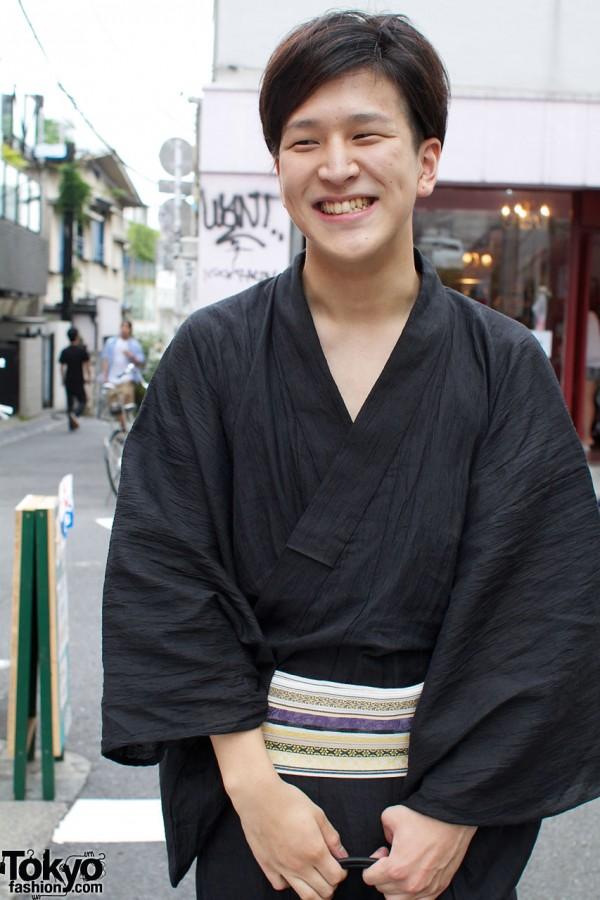 Traditional kimono & obi