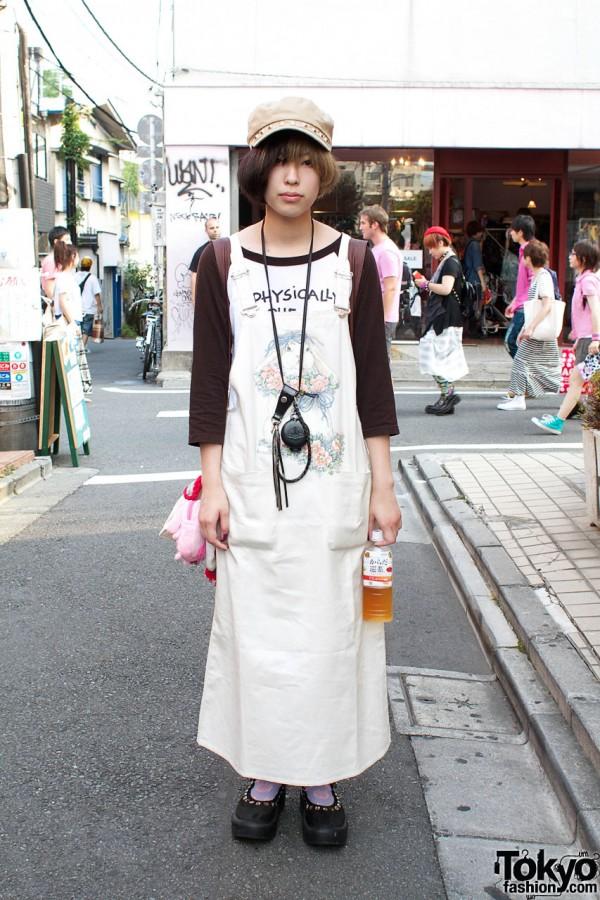 Long resale dress & raglan sleeve top