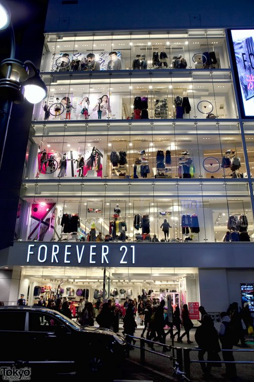 Image result for forever 21 shibuya