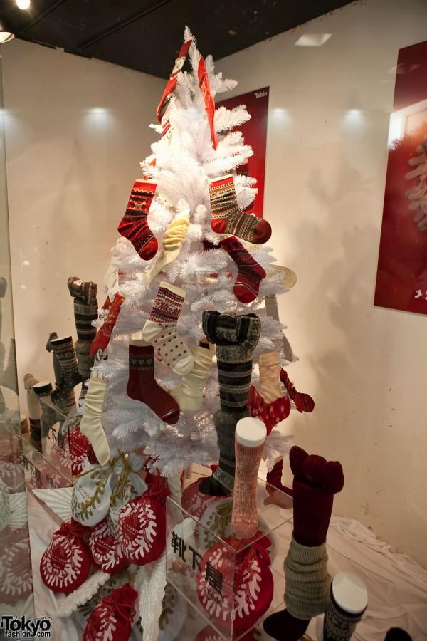 Sock Christmas Tree