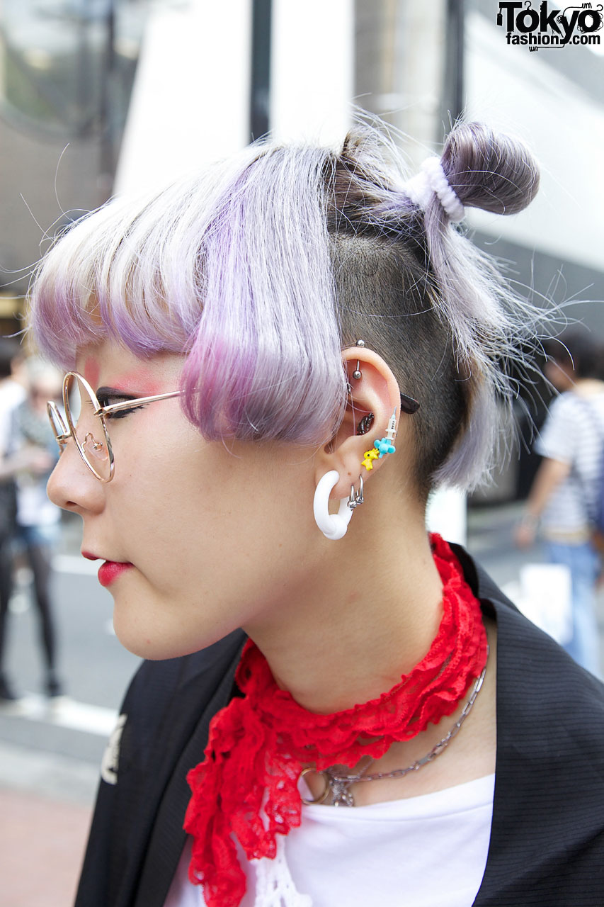 Colored Hair Amp Piercings In Harajuku Tokyo Fashion News