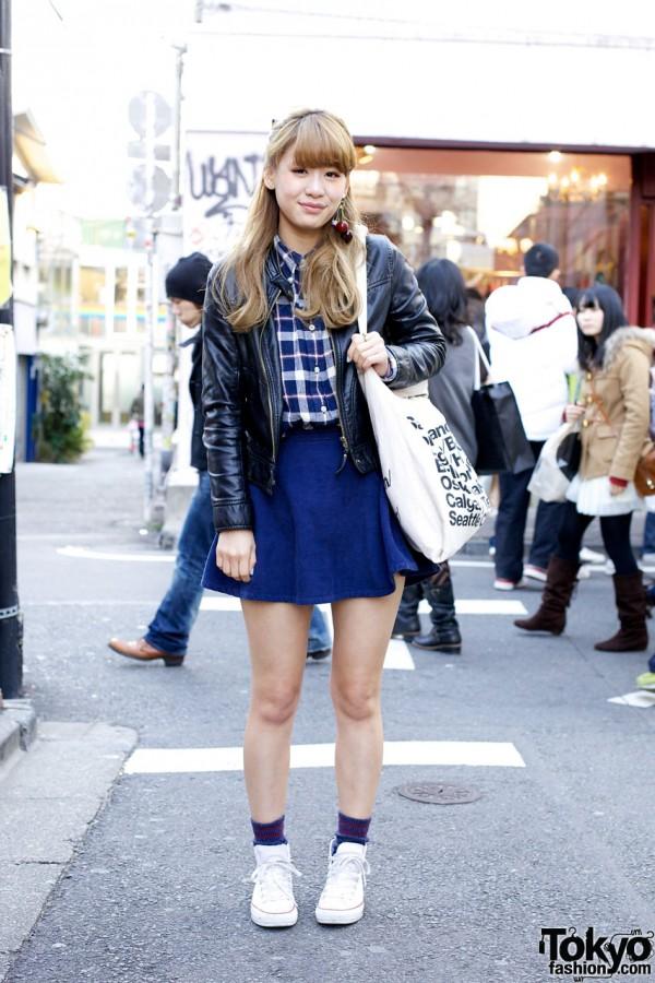 Tokyo Winter Bare Legged Style Oh My Omiyage