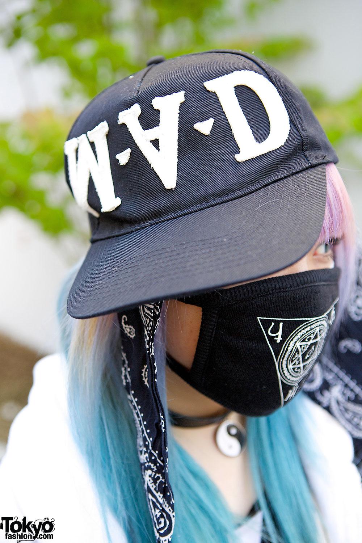 Qiss Qill Designer In Harajuku W Pink Blue Hair FRESHI