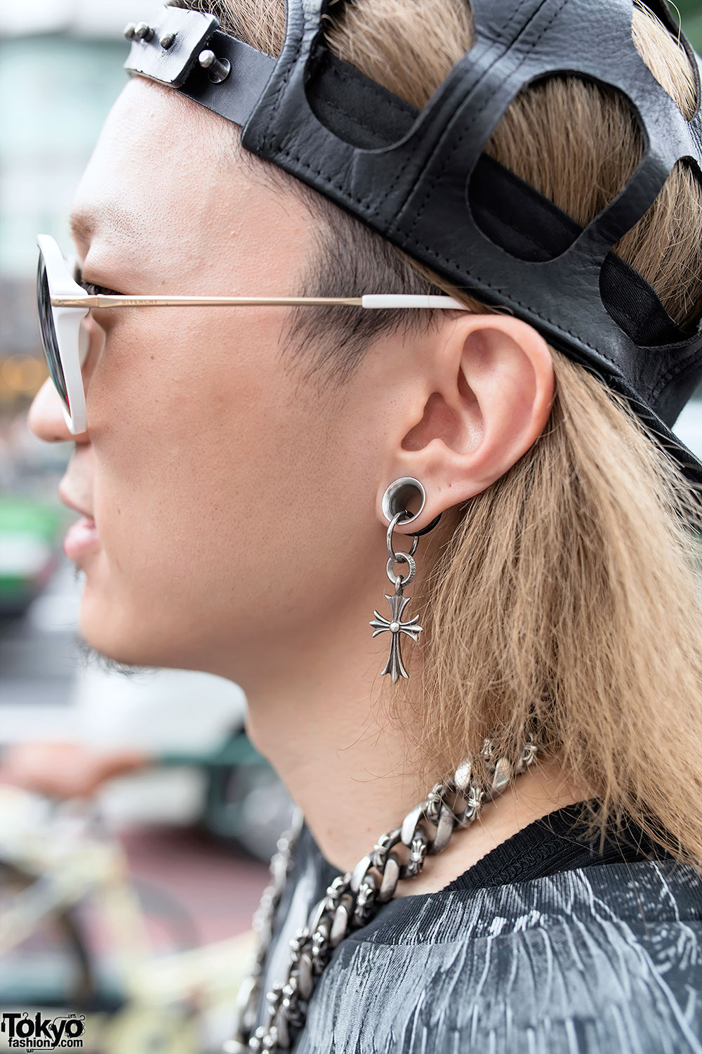 Harajuku Guy In Rick Owens Marcelo Burlon Amp Chrome Hearts