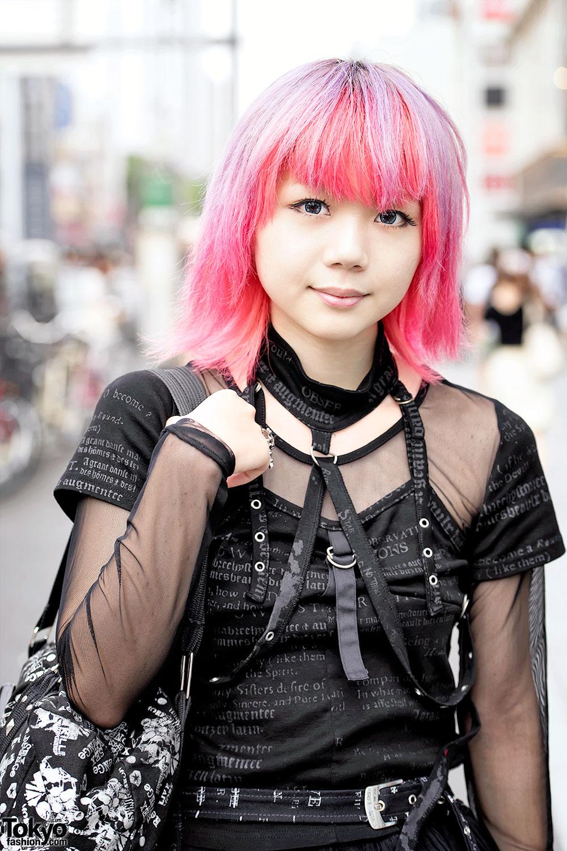 Pink Hair Amp Gothic Harajuku Fashion W HNAOTO Yosuke
