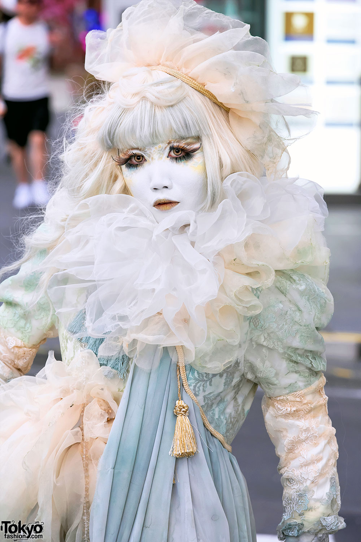 Shironuri Makeup Amp Remake Vintage Fashion By Minori In