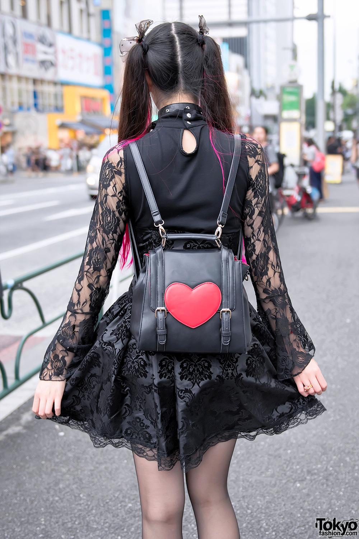 Pink Twintails Gothic Harajuku Street Fashion Amp Heart