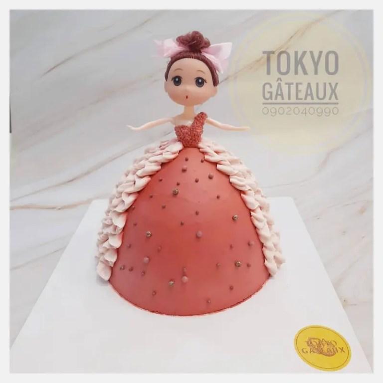 Công chúa Barbie váy bồng sz16 2