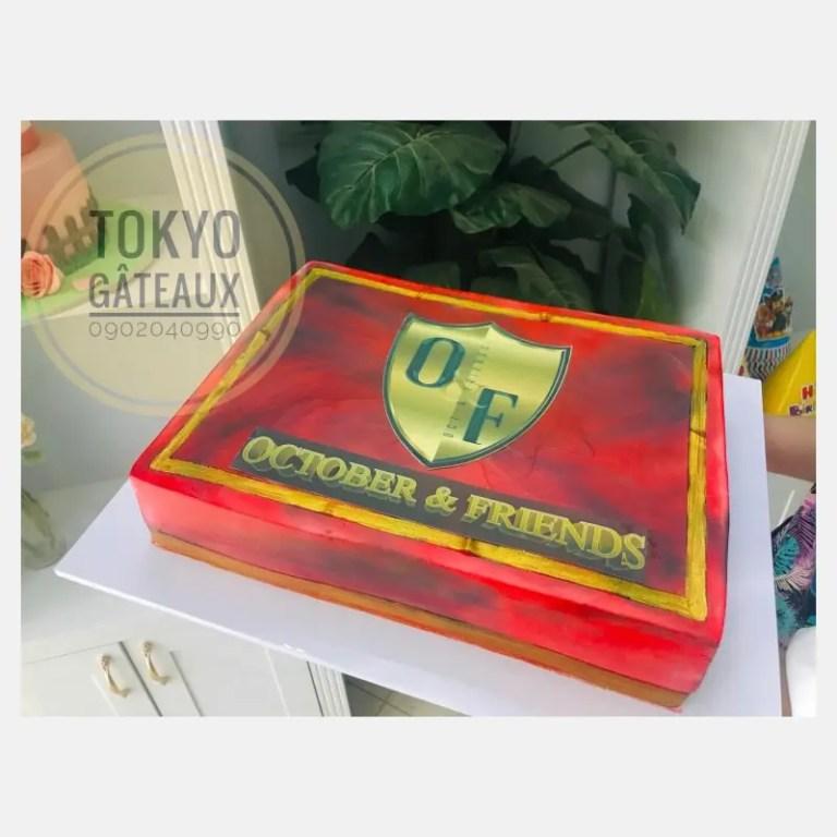 bánh sinh nhật Octorber and frds 2