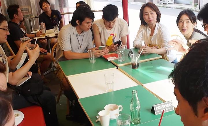intercambio de idiomas Local japanese with latinos