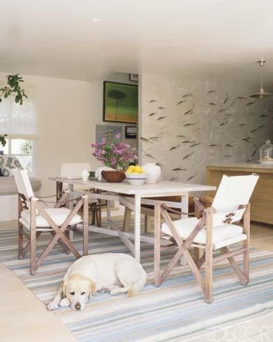 Jeffrey Alan Marks & Ross Cassidy de-gournay-fish-wallpaper_ElleDecor