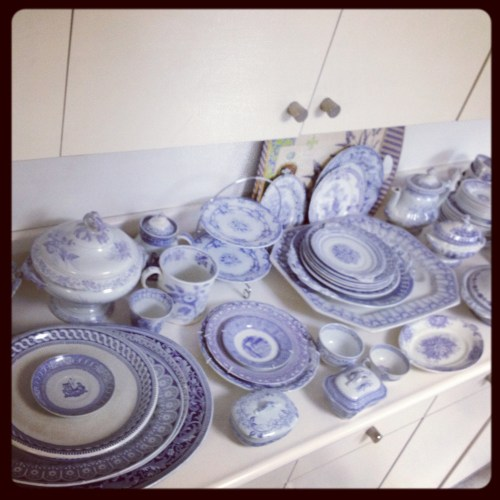 lavender transferware  round up