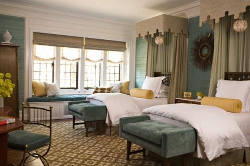 Elizabeth Dinkel canopy beds veranda-show-house-bedroom