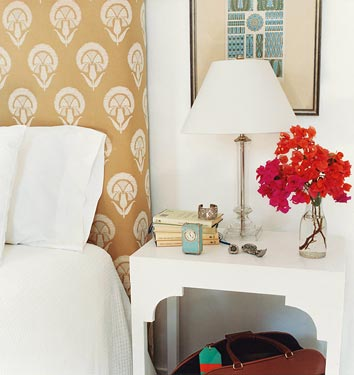India Hicks bedroom Domino
