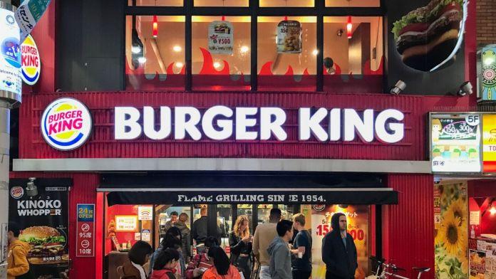Burger King Shibuya Center-gai @Tokyo Live