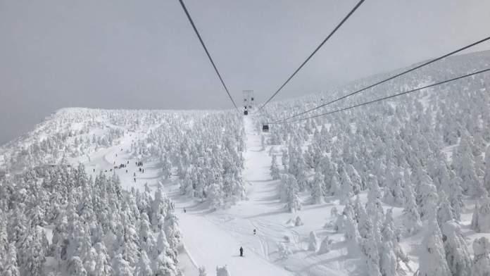Tokyo Area Ski Resorts, Ski lift in Japan