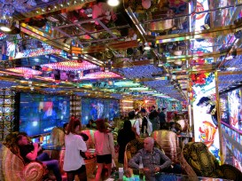 robot restaurant decor