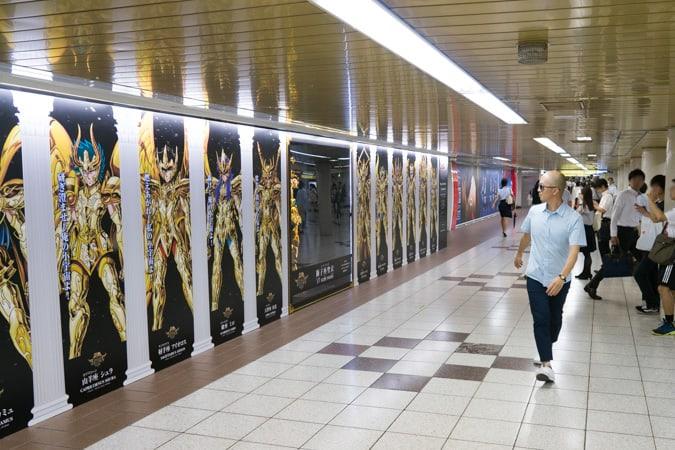 聖闘士星矢新宿駅-6