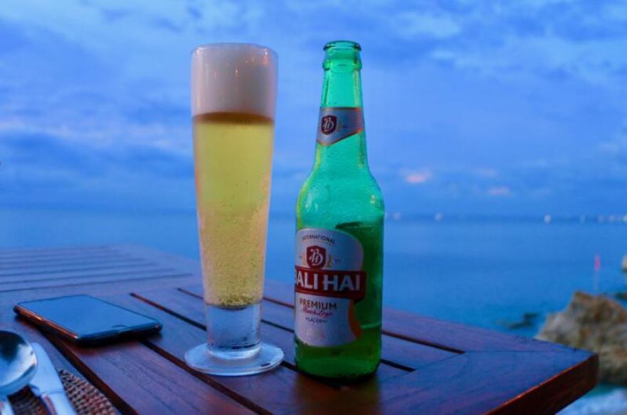 バリハイビールで乾杯
