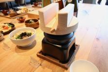飛騨コシヒカリ羽釜炊き