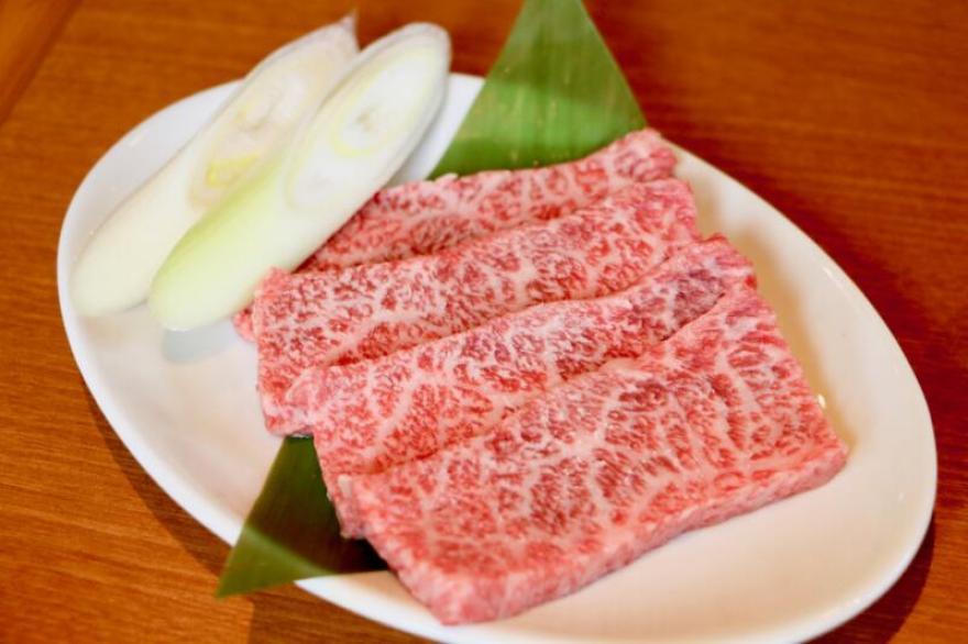 焼肉 まる秀 国分寺店 極上リブロース(1,290円税抜)