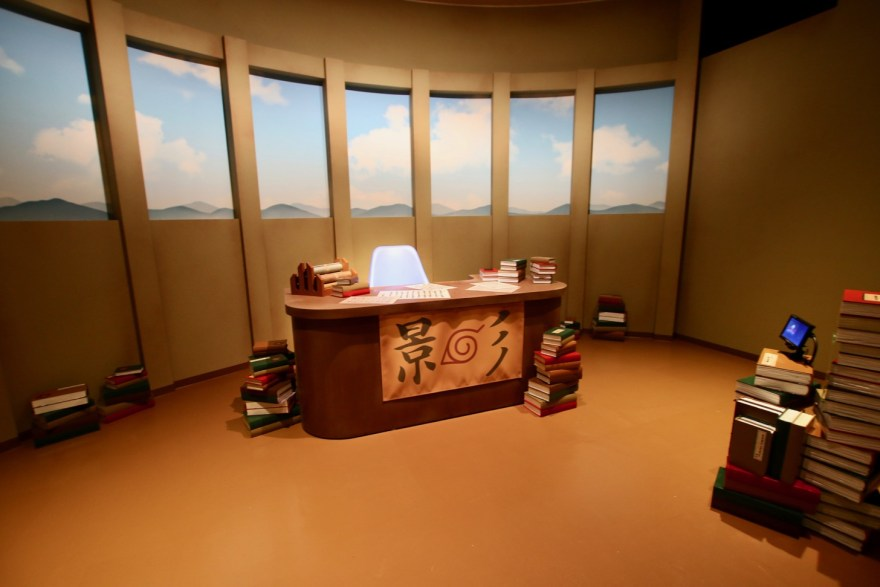 NARUTO×BORUTO 富士 木ノ葉隠れの里 忍道館 火影室のフォトスポット