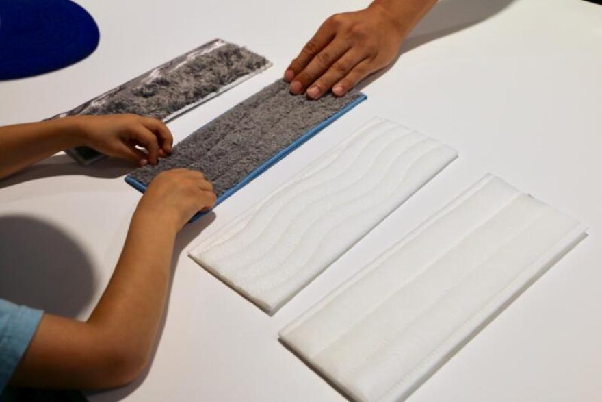 床拭きロボット「ブラーバジェットm6」のクリーニングパッド
