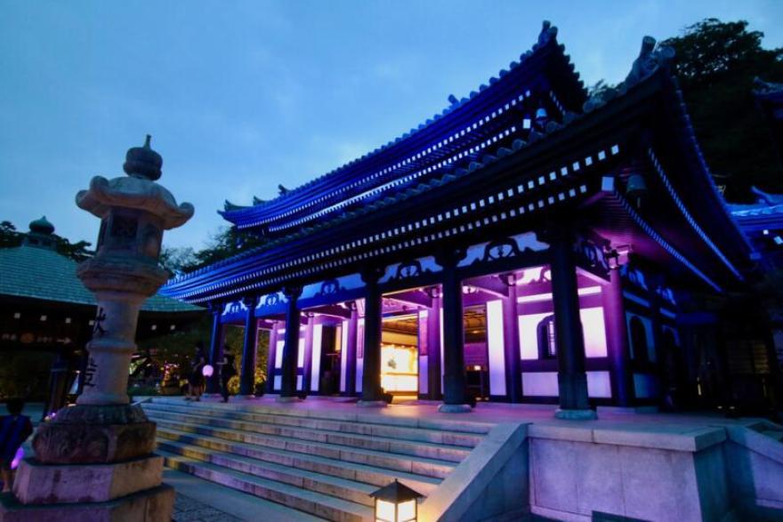 かまくら長谷の灯かり 長谷寺 観音堂