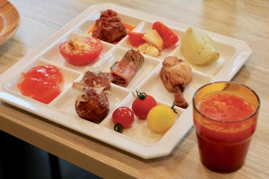 ワンダーファーム 森のレストラン トマトづくし