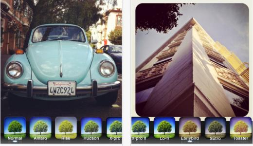 instagram(インスタグラム)で散歩写真を撮影しよう!