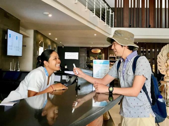 「ili(イリー)」を使って、バリ島のおすすめ観光スポットを教えてもらう