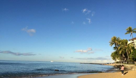 【ハワイ・ホノルル旅行記】ワイキキビーチのパワースポット「カヴェヘヴェへ」の海で心身を癒す