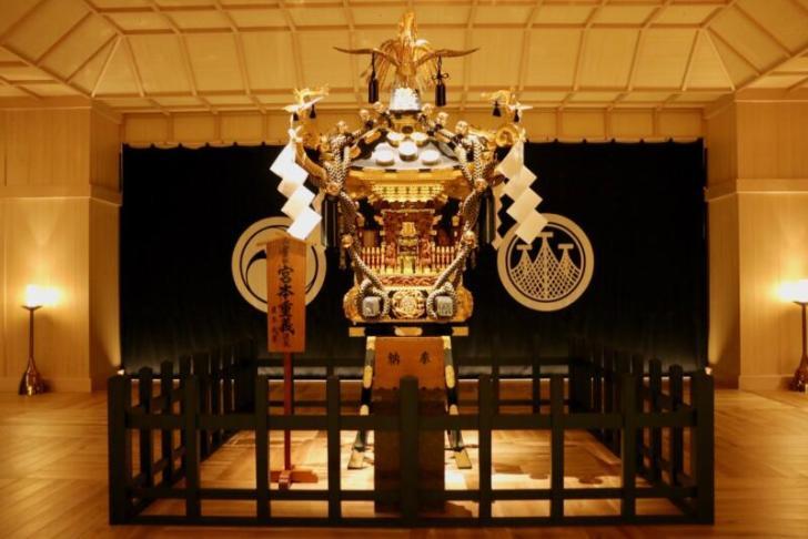 浅草三社祭で実際に担がれたという芝崎中町会のお神輿
