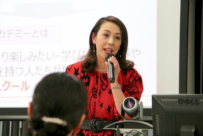 講師の島田律子さん