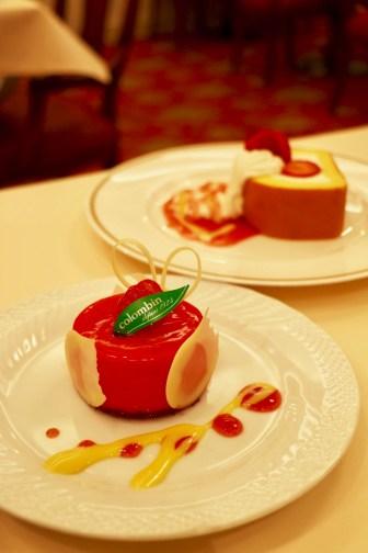 苺のムースフロマージュ