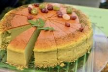 森のスフレチーズケーキ
