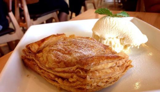 【上野恩賜公園】「上野の森 パークサイドカフェ」で食べる絶品アップルパイ