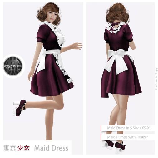 Tokyo.Girl Maid Dress Cherry2 Ad