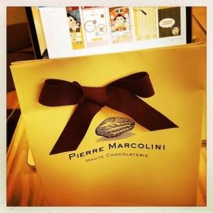 ピエールマルコリーニ チョコレート