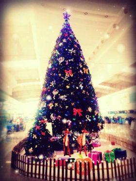 クリスマスムード at 大連(大連水周子空港)