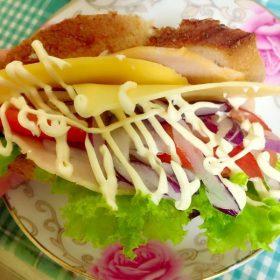 美味しいサンドイッチ作りのためにDELI HARBORへ
