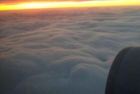 関東の大雪⇒上空はこんなにモクモクの雲が!
