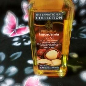 マカダミアナッツオイルの効果に期待❤️