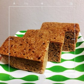 シナモンシュガー風味のおからケト蒸しパン
