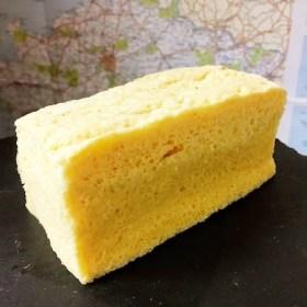 アーモンドプードルで作ったパウンドケーキ